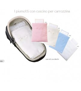 PIUMOTTO RIC.CM.60X70 CON CUSCINO COLORELLE