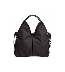 BORSA GREEN LABEL NECKLINE BLACK MELANGE
