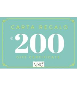 CARTA REGALO 50 EURO