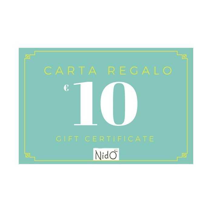 CARTA REGALO 10 EURO