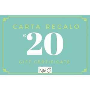 CARTA REGALO 20 EURO