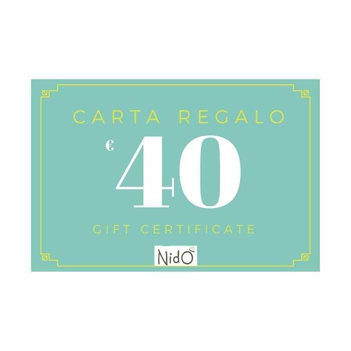 CARTA REGALO 40 EURO