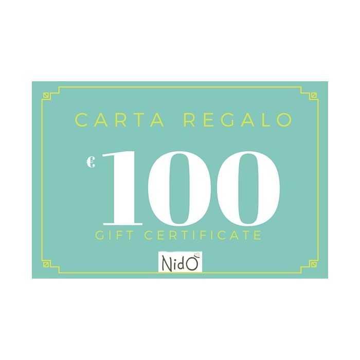 CARTA REGALO 100 EURO