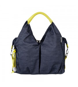 BORSA GREEN LABEL NECKLINE DENIM BLUE