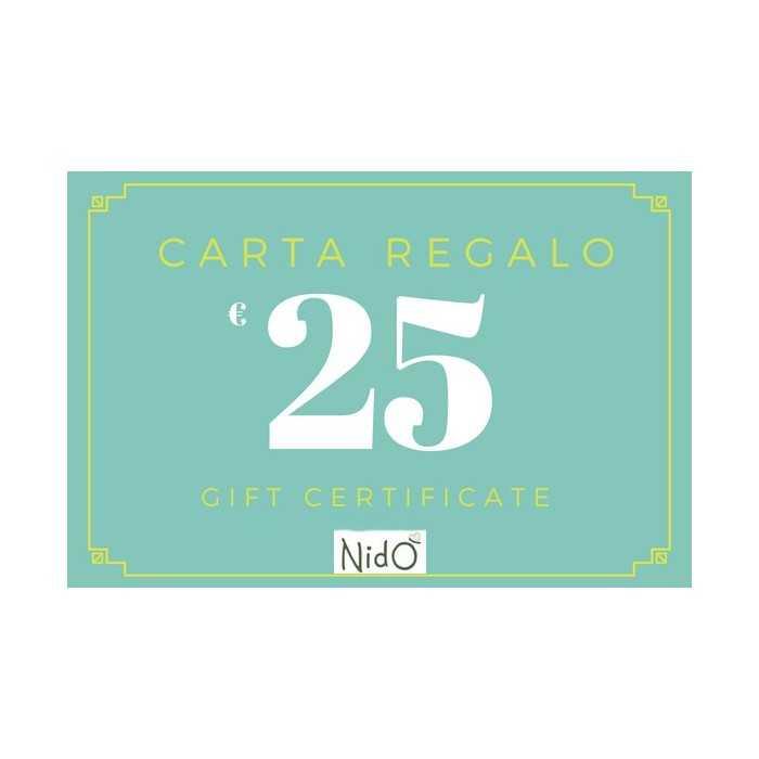 CARTA CARTA REGALO 25 EURO