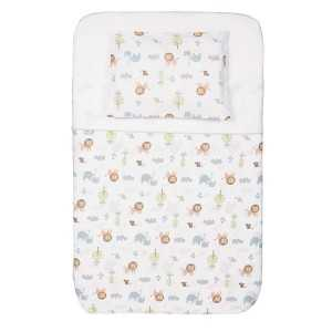 PARURE CON COPRIPIUMINO 3 Z LITTLE ANIMALS CHICCO