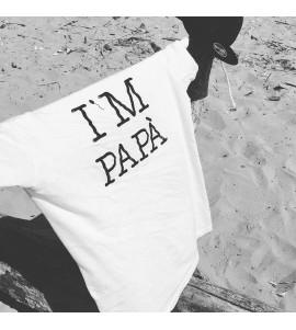T SHIRT I'M PAPA BIANCA
