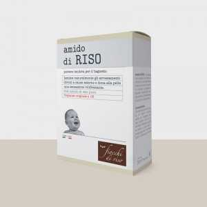 AMIDO DI RISO IN POLVERE 100 GR FIOCCHI DI RISO
