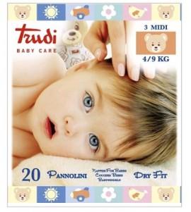 PANNOLINI DRY FIT MINI 4-9 KG TRUDI
