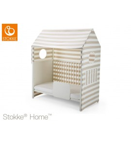 TENDA BEIGE STRIPE LETTO HOME STOKKE