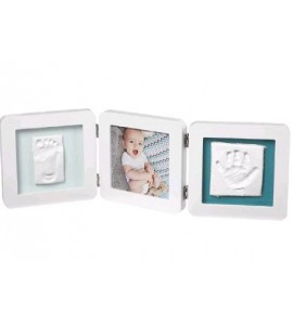 MY BABY TOUCH DOUBLE WHITE BABY ART