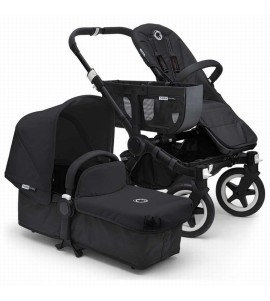 DUO DONKEY ALL BLACK COMPLETO BUGABOO