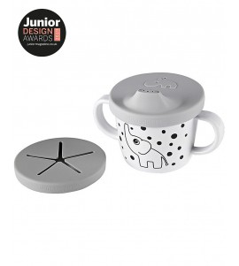 TAZZA SPOUT 2IN1 BEVI O MANGIA ELPHEE DONE BY DEER