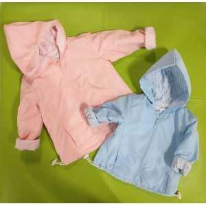 Giacchino nylon e jersey