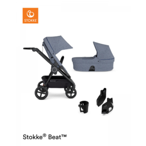DUO BEAT STOKKE BLUE MELANGE